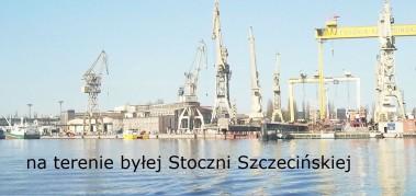 Pochylnie Szczecin - tło 2 Park Przem.