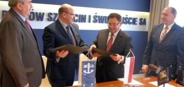 Port Szczecin będzie miał nowoczesne centrum logistyczne