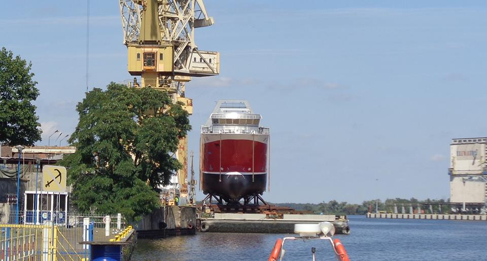 Jednostka na pontonie - pierwsza faza zakończona