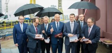Gryfia zaczyna budowę promu dla Polskiej Żeglugi Bałtyckiej