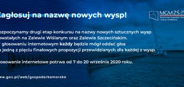 Konkurs na nazwanie nowych wysp W22 i W28 – prośba Zbigniewa Antonowicza